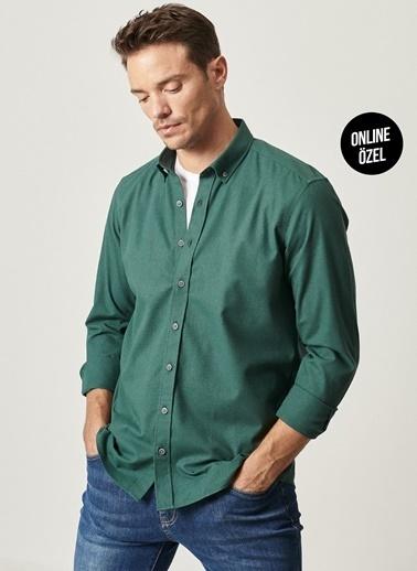 Altınyıldız Classics Gömlek Yeşil